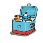 クーラーボックスの効果的な使い方は?保冷剤の入れ方や効率よく冷やすには?